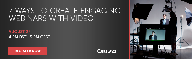 Why Video can make Webinars more Engaging